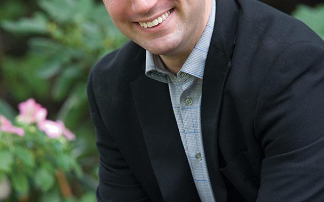 Rabbi Ari Saks of Congregation Beth Mordecai is one of two rabbis in the state to endorse the environmental coalition Jersey Renews. Photo courtesy Ari Saks