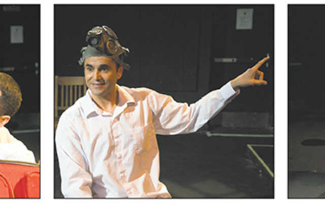 Ibrahim Miari performs his one-man show, In Between, about his Jewish and Muslim heritage.