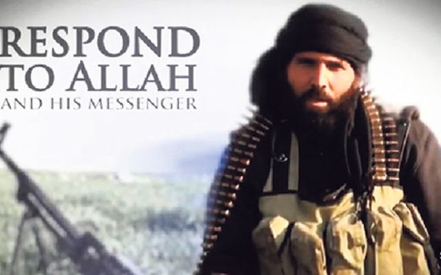 """A video from the ISIS-linked Al Hayat Media Center urges English-speaking Muslims to """"come to Jihad."""""""