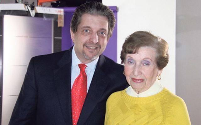 Martha Friedman and her son, Steven