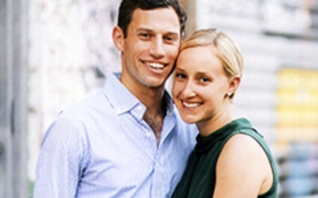 Cassel Lessinger and Brooke Jacobsen