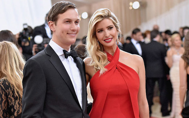 Jared Kushner and wife Ivanka Trump attending a gala at the Metropolitan Museum of Art in New York City, May 2, 2016. (Mike Coppola/Getty Images for People.com)