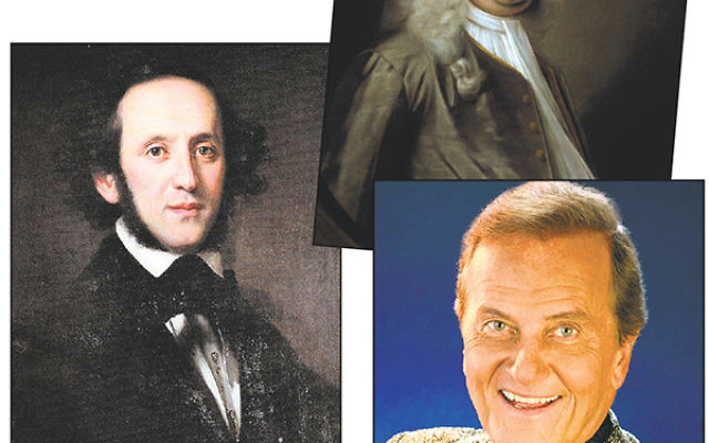 The concert will feature works by Felix Mendelssohn, George Frideric Handel, and Pat Boone.