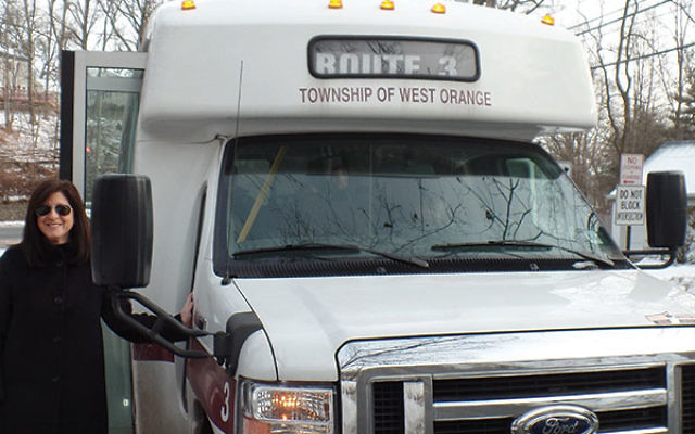 The West Orange commuter jitney picks up residents in the Gregorysection of West Orange.