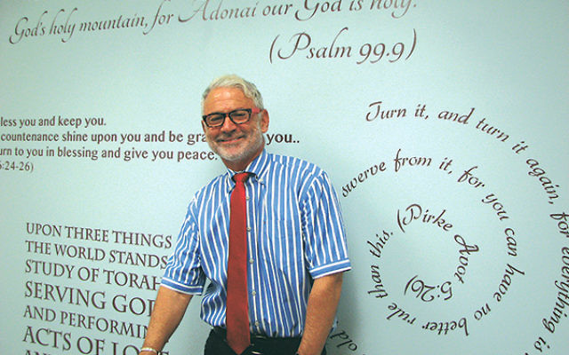 """Rabbi Bill Kraus is the new """"rabbi-in-residence"""" at the Chai Center for Jewish Life in Watchung."""