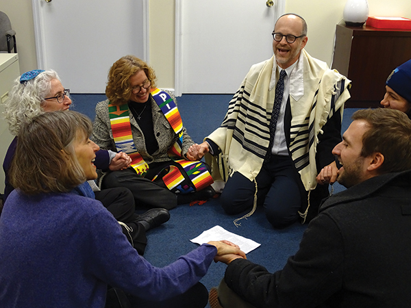 Rabbis arrested at DACA sit-in at Rep  Lance office   New