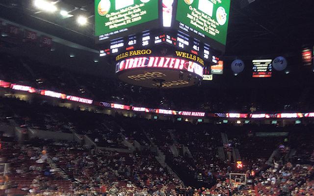Portland's Moda Center hosted Maccabi Haifa on Oct. 17