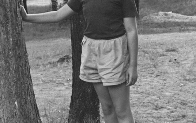 Robert Wiener at age nine, one year after moving to Maplewood.