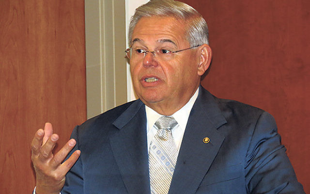 "Sen. Robert Menendez (D-NJ) said if a potential deal ""does not dismantle, not just stall, Iran's illicit nuclear program…we will work with our colleagues in Congress to act decisively, as we have in the past."""