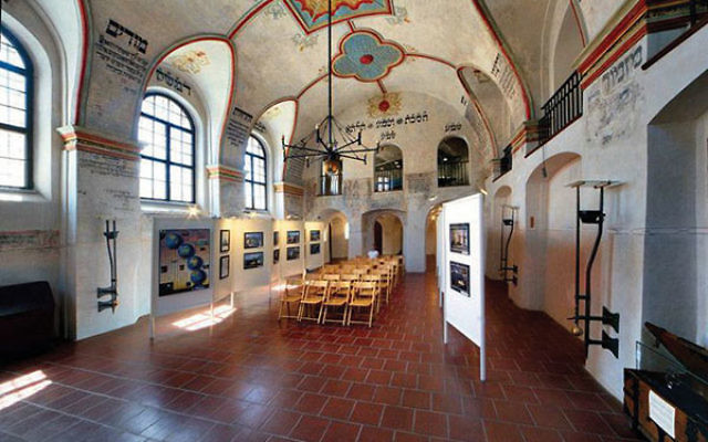 The historic Rear Synagogue in Trebic is one of the synagogues that would host a performance of music by Czech and Jewish performers. Photo courtesy Czech Tourism