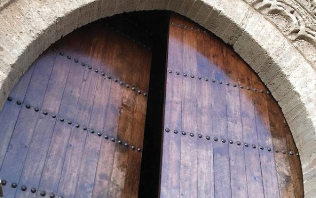 A gate in Rabat's Qasbah des Oudaya
