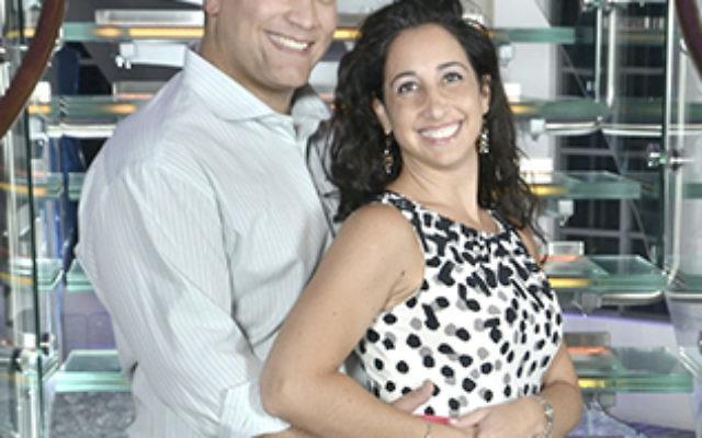 Erik Dienna and Lauren Paster