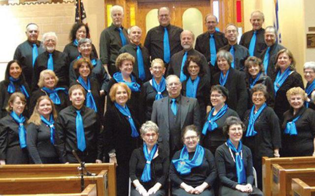 Makhelat Hamercaz Jewish Choir of Central New Jersey. Photos courtesy Hazzan Sheldon Levin