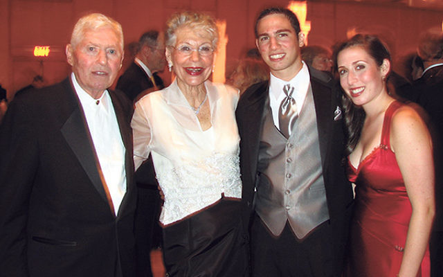 Members of the Punia family, from left, Leonard and Renee Punia and grandchildren Charles Punia and Elyse Punia at a Greenwood House gala.