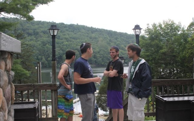 Judaism infuses everything at Ramah camps, from sports to art to the dining hall, campers and staff say. (Uriel Heilman)