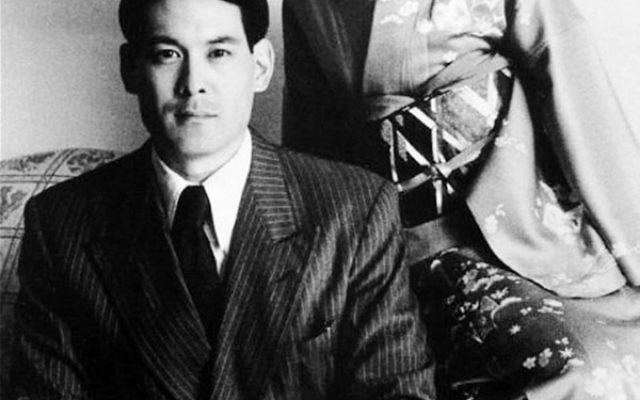 "Filmmaker Chris Tashima and Susan Fukuda portray Chiune ""Sempo"" Sugihara and his wife, Yukiko, in Visas and Virtue."