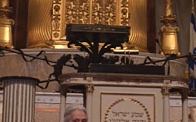 Janice Rothschild Blumberg, former rebbetzin of The Temple in Atlanta, described how her synagogue was bombed in 1958.