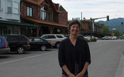 Rabbi Francine Green Roston moved to Whitefish, Mont., with her family from New Jersey in 2014.