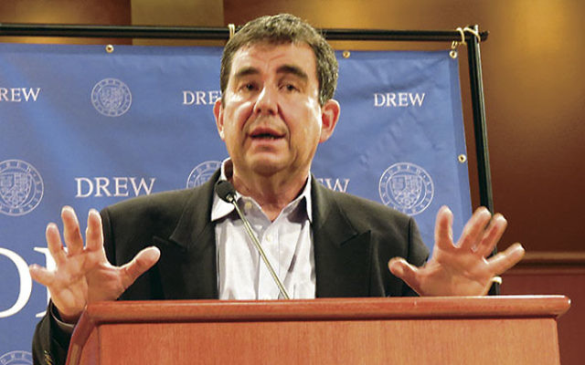"""Israeli author and journalist Ari Shavit told an audience at Drew University that """"the greatest Zionist project in the 21st century is ending the occupation in a reasonable, conscious way."""""""