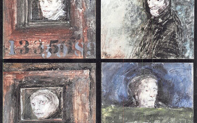 Paintings by Marcia Marx that have been gifted to the Holocaust Council of Greater MetroWest.