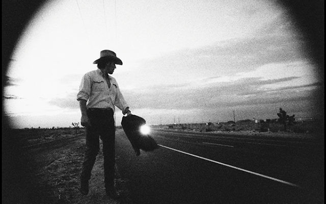 "Bruce Springsteen, musical legend, retells biblical stories in his classic rock lyrics. ""Bruce on Highway,"" photo by Pamela Springsteen"