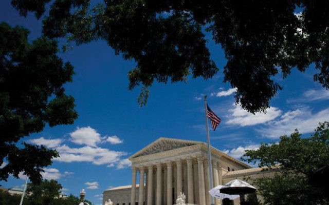 An exterior view of the U.S. Supreme Court in Washington, DC. Courtesy Getty Images
