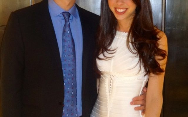 Joshua Friedman and Erica Sutton