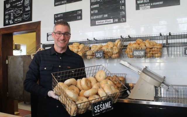 Former technology whiz Robb Abrams has forged a new identity as a bagel maker in Salt Lake City.