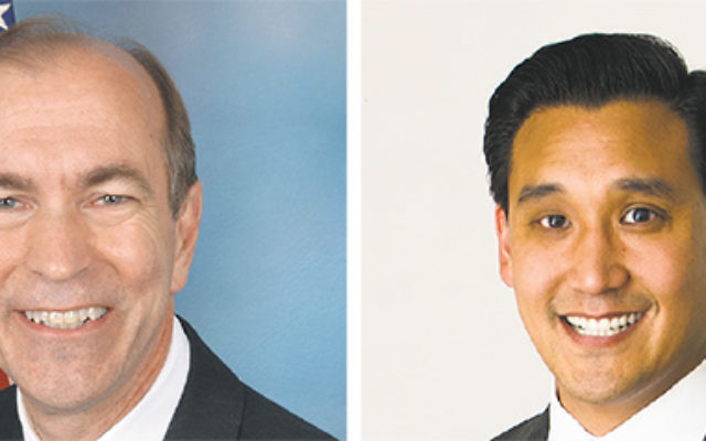 Candidates in District  5: Rep. Scott Garrett (R) and Roy Cho (D