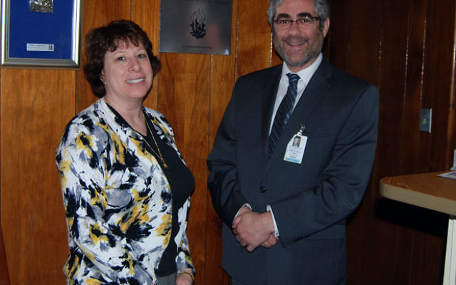 Rabbi Eliyahu Teitz and Rose Kandl say the Arrowsmith intensive learning program offered at the JEC can open up new academic vistas for learning disabled students. Photo by Elaine Durbach