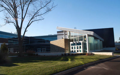 The campus of Union County Vocational-Technical Schools' Academy for Performing Arts, where JCC campers will take movement, dance, acting, and improvisation classes.