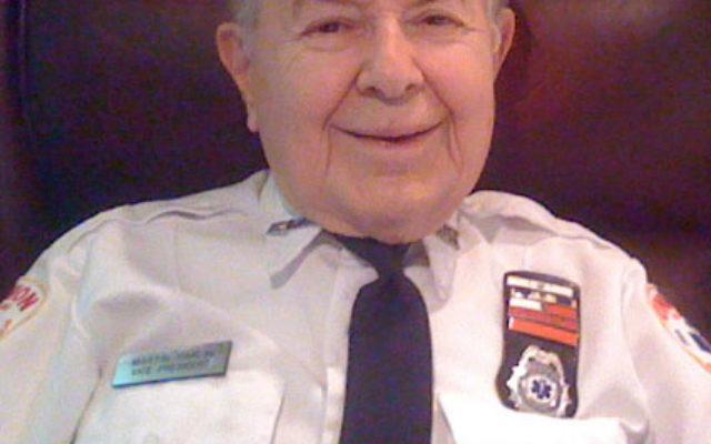 Martin Karlin in his Union Emergency Medical Service uniform.