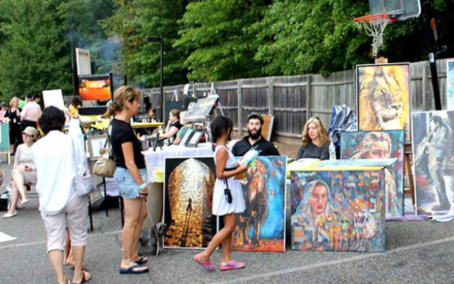 As they did last year, artists and crafts people will present their work at this year's Chabad Jewish Center music and art festival event on July 10.