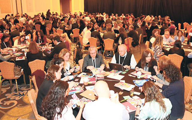 As part of iCamp, participants engaged in hands-on educational activities.