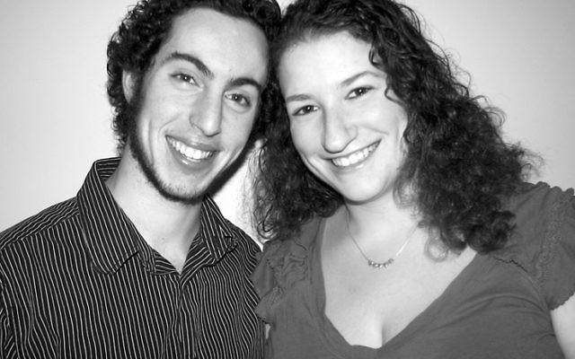 Brian Binder and Sara Richman