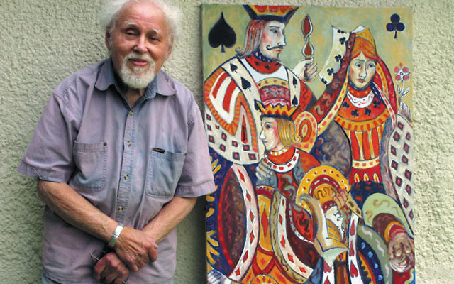 Variations on Playing Cards and its artist, George Tarr