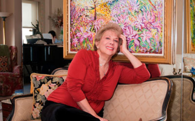 Marilyn Michaels at home in her New York City apartment
