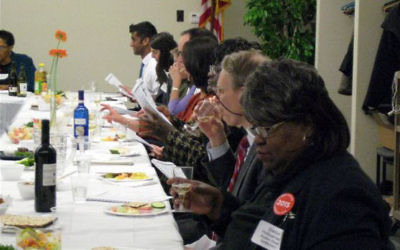 A Childhood Nutrition Seder was held earlier this month in Rochester, NY.