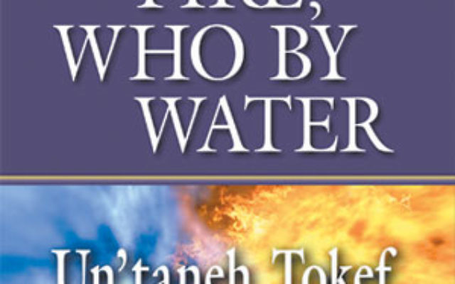 Who by Fire, Who by Water: Un'taneh Tokef (Jewish Lights Publishing, Woodstock, Vt., May 2010).