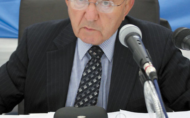 The UN report on the Gaza war by Richard Goldstone, pictured, found Israel guilty of possible war crimes and became a diplomatic headache for the Jewish state. Photo courtesy UN