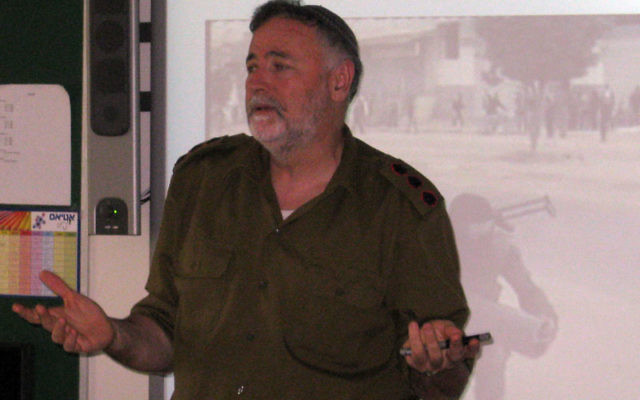 IDF Col. (Res.) Bentzi Gruber dramatically illustrates Israel's use of military ethics in the field.