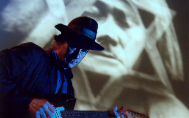 Gary Lucas performing his soundtrack to The Golem.
