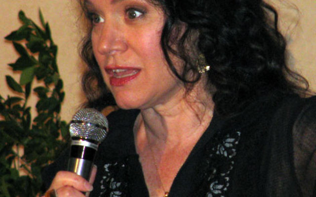 Comedian Susie Essman entertains MetroWest UJA Campaign donors at Crestmont Country Club in West Orange. Photo by Robert Wiener