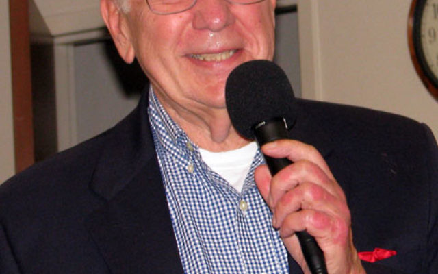 In a May 25 Parsippany LIVE program, Rick Busciglio recalls the vintage radio programs that were once the most popular entertainment in the United States. Photos by Robert Wiener