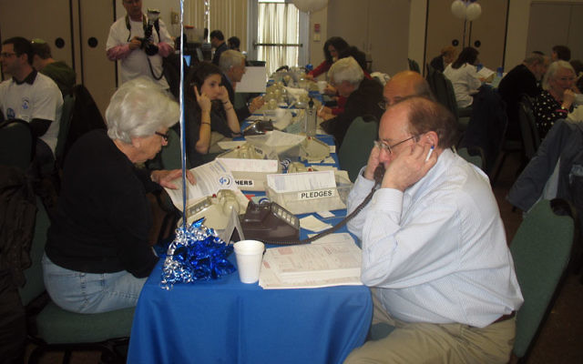 Hundreds of volunteers — like these at last year's MetroWest Super Sunday — will help raise funds at this year's Dec. 12 phonathon.