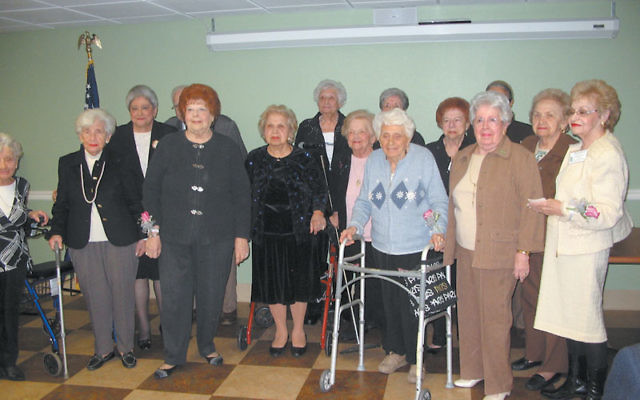 Residents who have lived at Jewish Federation Plaza since 1990 were honored at the celebration.
