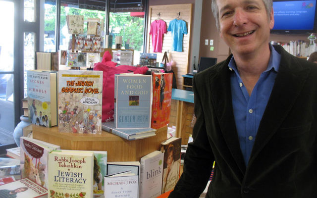 Jonah Zimiles — in Words, his bookstore in Maplewood — was recently appointed to the Jewish Federations of North America's disability working group. Photo by Johanna Ginsberg