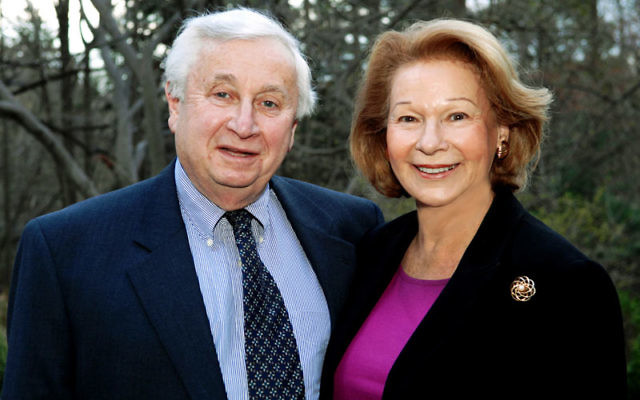 Sylvia and David Steiner, who support efforts to preserve Yiddish culture. Photo by Robert A. Cumins