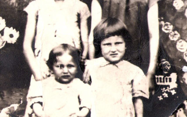 The Lancman sisters during the war; Malka was, at the time, the youngest. A baby sister, Poyla, died from malnourishment when the family was in a Soviet labor camp.