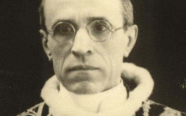 Pope Pius XII, now on the road to sainthood, signed a concordat with Germany in 1933.